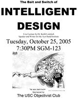 Intelligent Design Flyer
